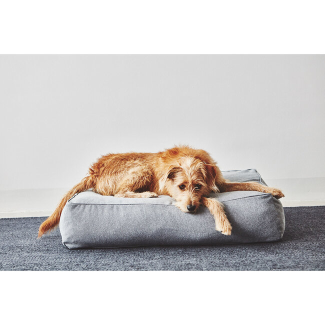 Stella Dog Lounge Cushion, Mottled Slate