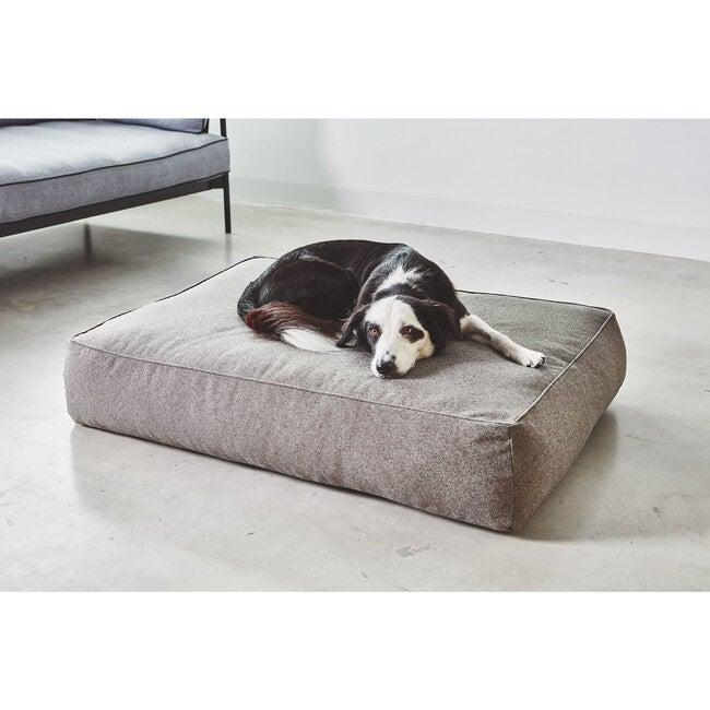 Stella Dog Lounge Cushion, Mottled Mocca