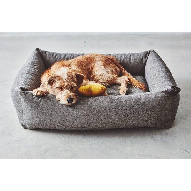 Stella Box Dog Bed, Mottled Mocca