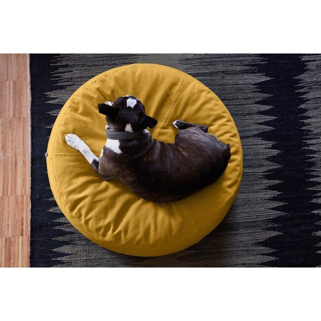 Stella Dog Pouffe, Saffron