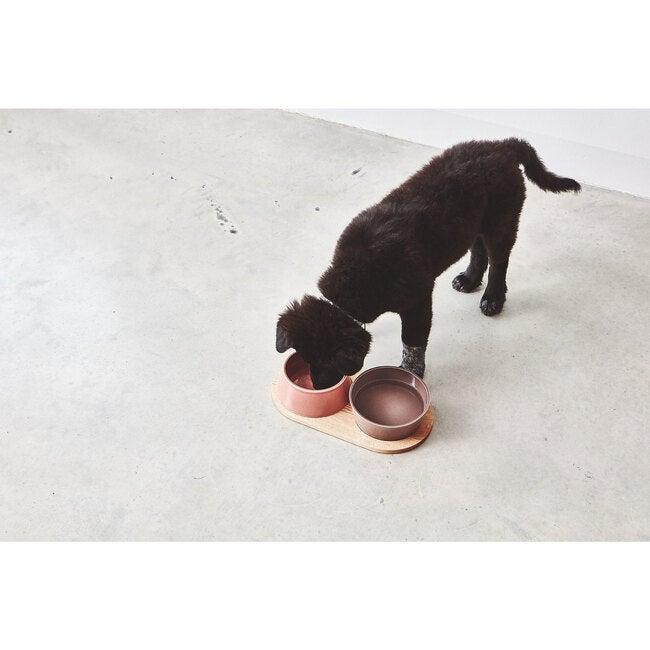 Doppio Dog Bowl Set, Berry