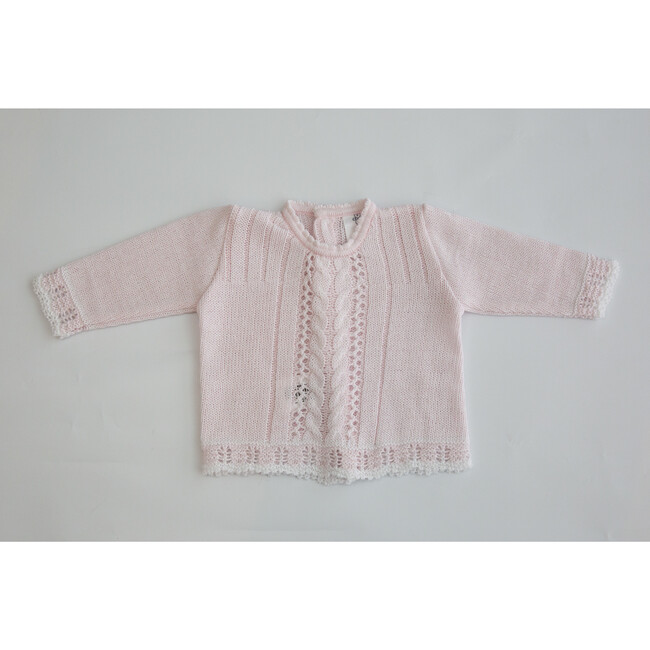 Knitted 3-Piece Set, Pink