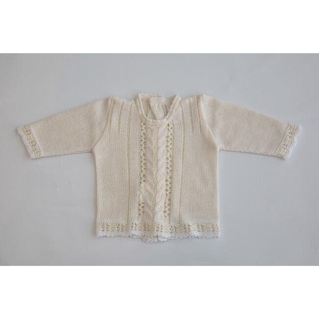 Knitted 3-Piece Set, Beige