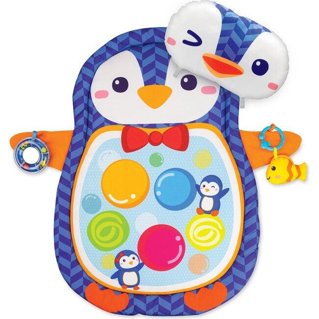 Penguin Tummy Time Playmat - Blue