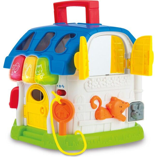 Sort N Learn Activity House - Multicolor