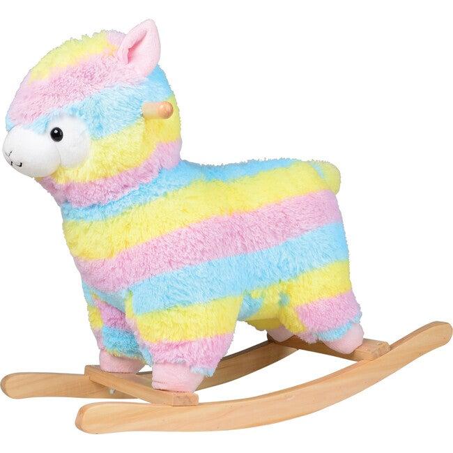 Rainbow Llama Rocker - Multicolor