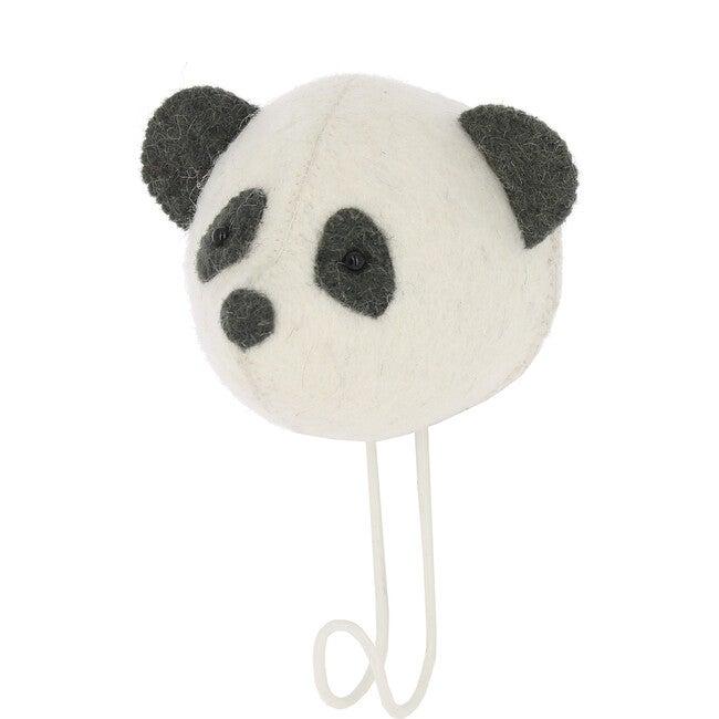 Panda Hook, White/Black