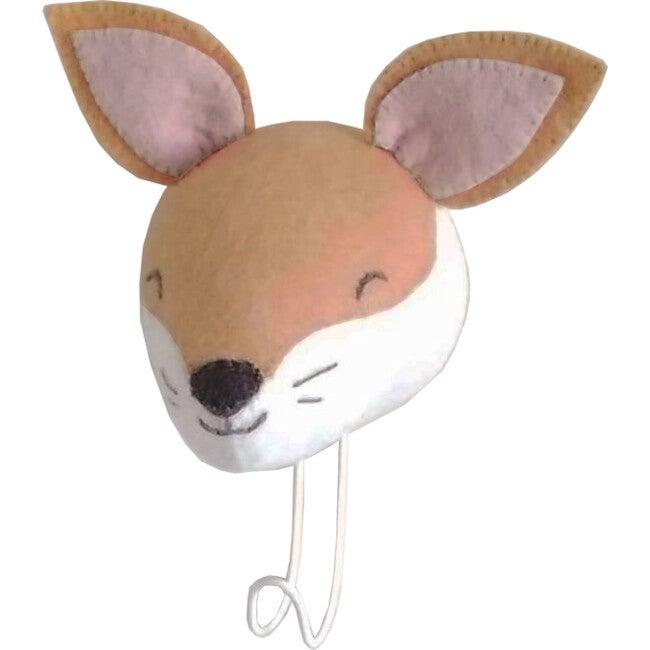 Sleepy Fox Hook, Light Tan