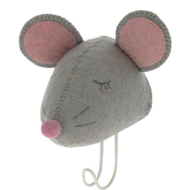 Sleepy Mouse Hook, Grey