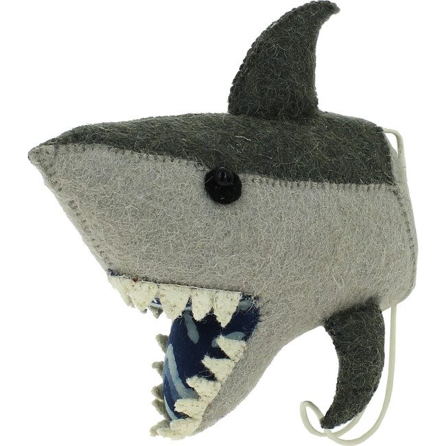 Shark Hook, Grey/Blue