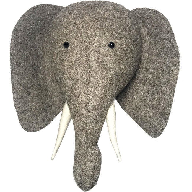 Semi Elephant Head - Animal Heads - 1
