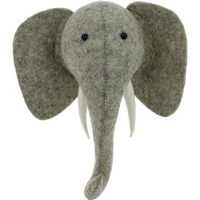 Mini Elephant with Tusks - Animal Heads - 1
