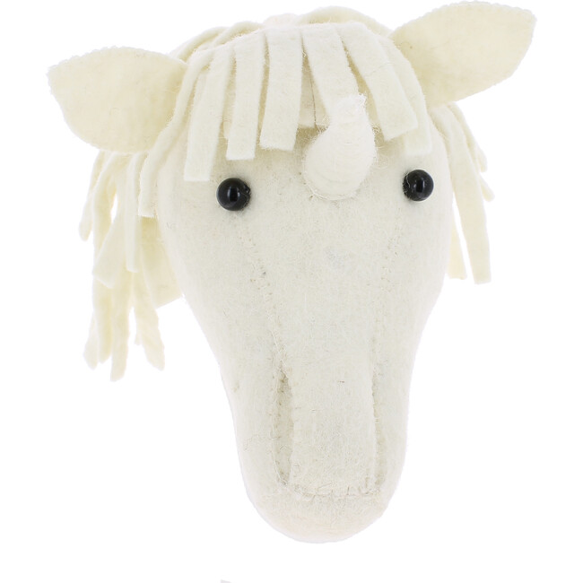 Mini Unicorn Head - Animal Heads - 1