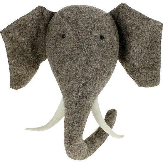 Elephant with Tusks - Animal Heads - 1