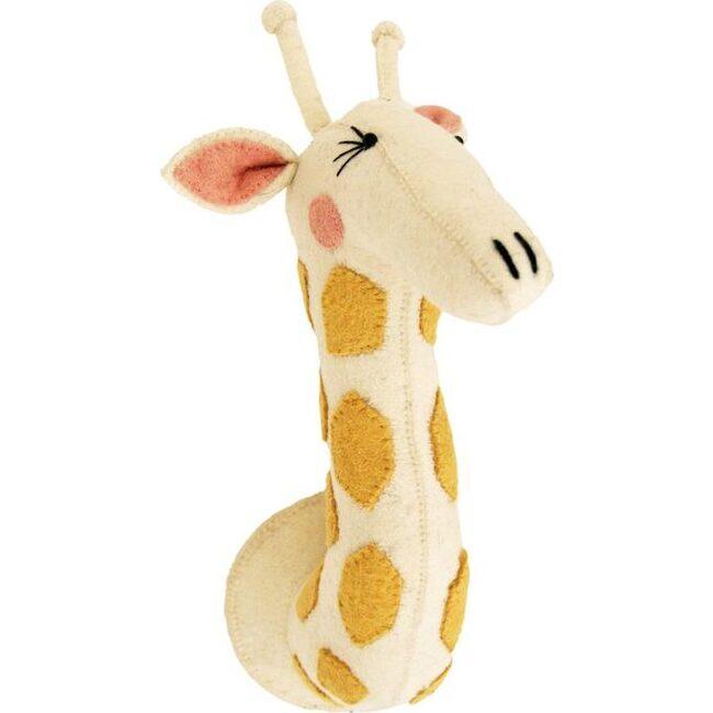 Girl Giraffe - Animal Heads - 1