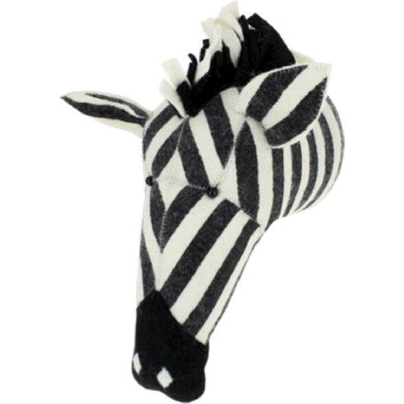 Zebra Head, Stripe - Animal Heads - 1