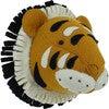 Double Ruff Tiger Head, Orange - Animal Heads - 3