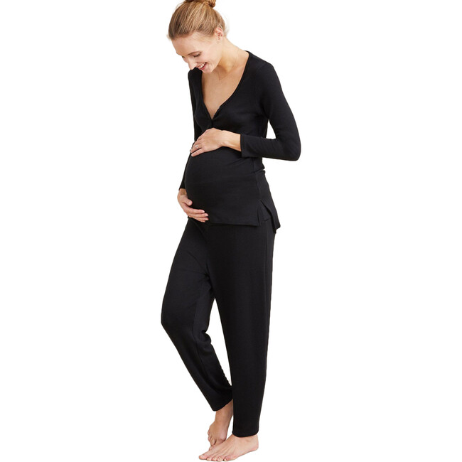 The Women's Over/Under Lounge Pant, Black