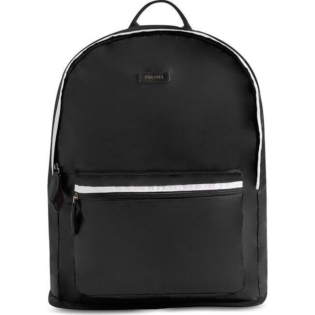 Fold-Up Backpack, Derby Black