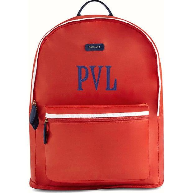 Fold-Up Backpack, Bebop Red