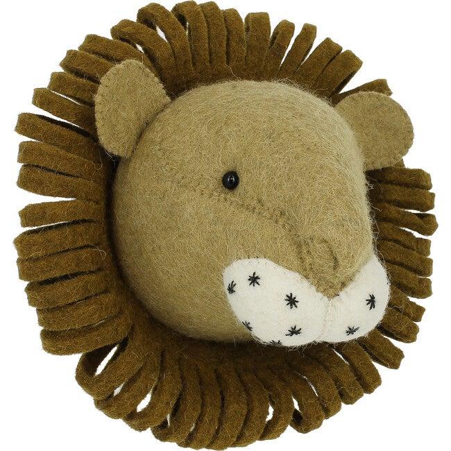 Mini Lion Head, Neutral - Animal Heads - 1