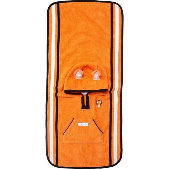 Kid's Pounce Poncho Towel,Orange