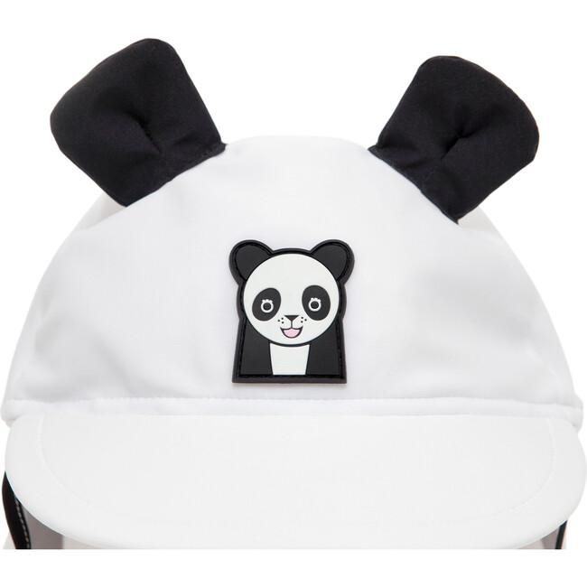Kids Patch Summer Hat, White