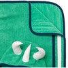 Kid's Spike Poncho Towel,Green - Cover-Ups - 5
