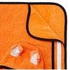 Kid's Pounce Poncho Towel,Orange - Cover-Ups - 5