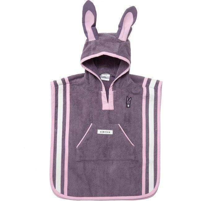 Kid's Hop Poncho Towel,Grey - Cover-Ups - 1