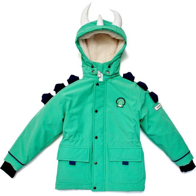 Spike The Dinosaur Coat, Green