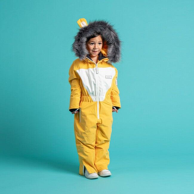 Cub the Lion Ski Suit with Faux Fur trim