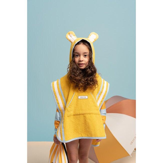 Kid's Cub Poncho Towel,Yellow