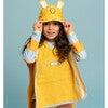 Kid's Cub Poncho Towel,Yellow - Cover-Ups - 3