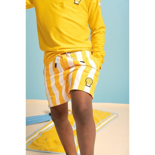 Boys Cub  Swim Trunks, Yellow