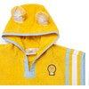 Kid's Cub Poncho Towel,Yellow - Cover-Ups - 4