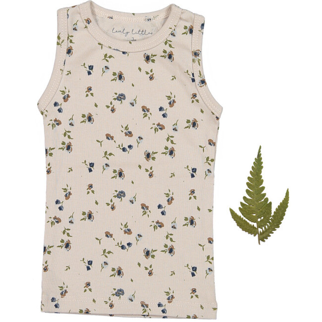 The Sea Rose Tank, Floral Sand