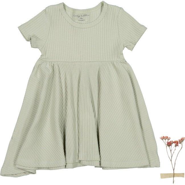The Sea Rose Short Sleeve Dress, Mist