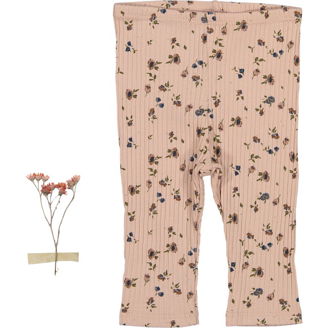 The Sea Rose Legging, Floral Blush - Leggings - 1