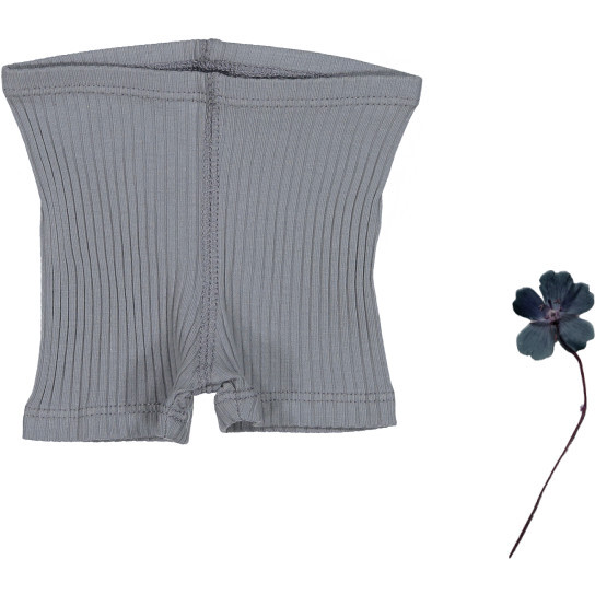 The Ribbed Short, Slate