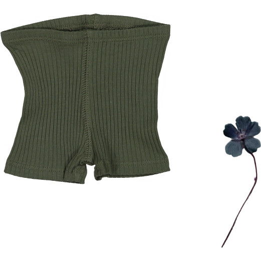 The Ribbed Short, Moss