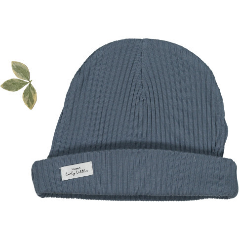 The Ribbed Hat, Midnight Blue