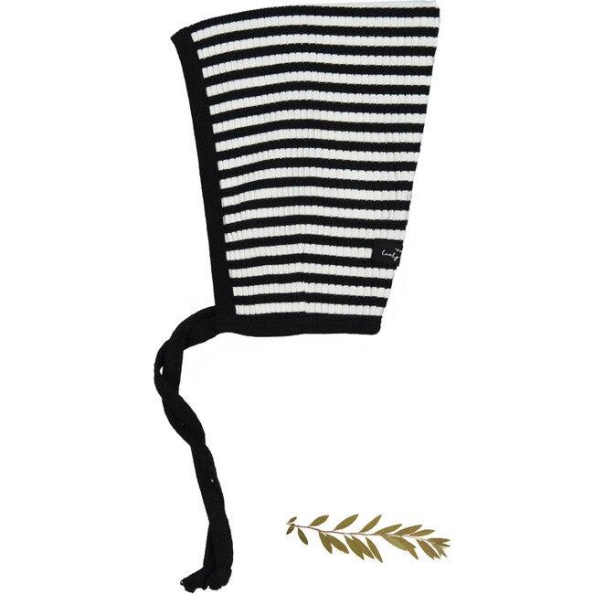 The Ribbed Pixie Bonnet, Stripe