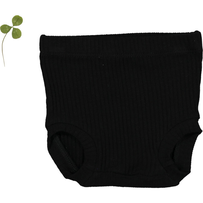 The Ribbed Bloomer, Black