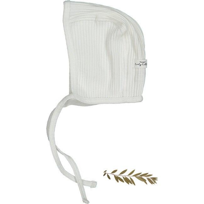 The Cotton Bonnet, White