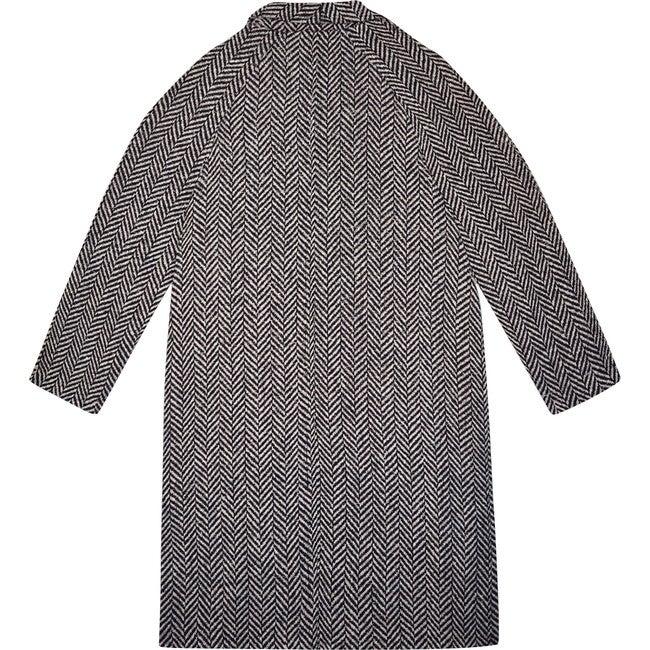 Women's Ronie Coat, Ash Herringbone