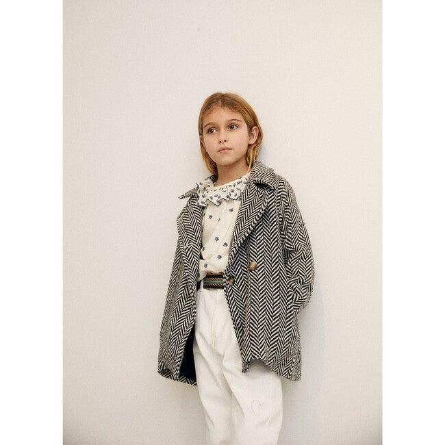 Ronie Coat, Ash Herringbone