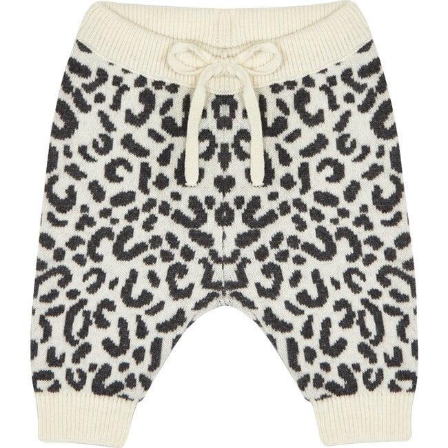 Rose Leopard Baby Pant, Leopard