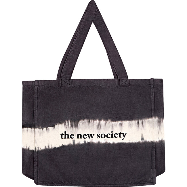 TNS Tote Bag, Tie Dyed Ash