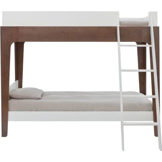 Perch Twin Bunk Bed, Walnut